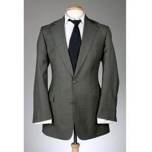 Vintage Brooks Brothers Men's Plaid 2 Piece Suit